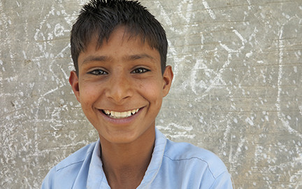 Meet Eight-year-old Child Worker And Head Of Household, Akash